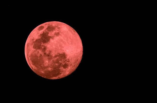 超級血月與月全食網友美照一次看 下次要等2033年
