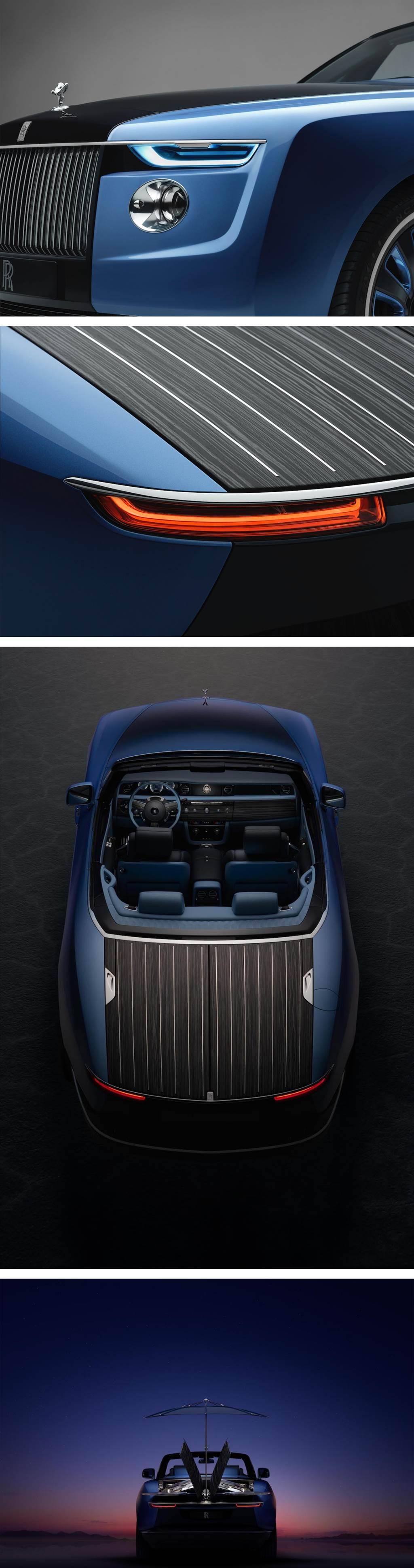 呈獻 30 年代船型車體的絕美姿態,Rolls-Royce Coachbulid 客製化業務第二號 Boat Tail 正式亮相