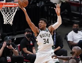 NBA》公鹿當「奧客」痛扁熱火 搶先宣告聽牌了