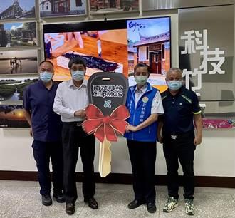 南茂支持抗疫 捐贈兩部警用巡邏車予新竹縣警察局