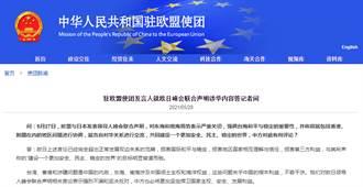 中國駐歐盟使團:堅決反對歐日峰會聯合聲明相關言論