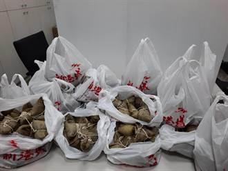 餐廳老闆贈送粽子 感謝清水警分局員警防疫辛勞