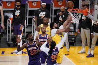 NBA》湖人驚險射日 摘闊別9年季後賽主場勝利