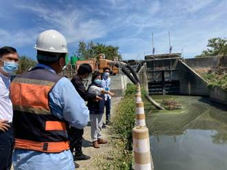 梅雨鋒面來臨 台南鹽水區公所巡視水利防災設施