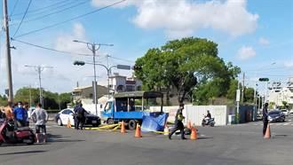機車、小貨車車禍女騎士當場死亡 小貨車駕駛酒測超標