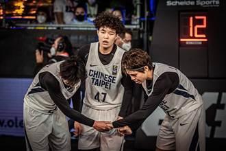 籃球》東奧3對3資格賽全敗淘汰 中華隊赴匈牙利再拚