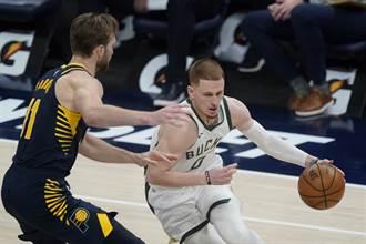 NBA》公鹿麻煩了!迪文森佐腳踝韌帶撕裂提前報銷