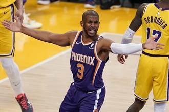 NBA》太陽2連敗 保羅:這個人害我輸11場季後賽