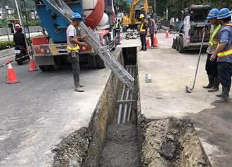減少天然開採 6/1起申請北市挖路工程須規畫焚化再生粒料回填
