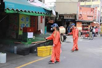 新竹持續防疫消毒 56處熱區加強噴藥