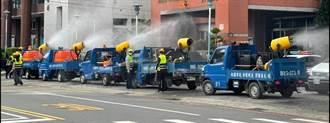 龜山3清潔隊員確診 環保局全區大消毒