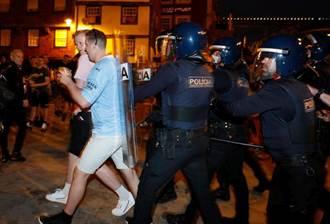 足球》不戴口罩群聚鬧事 英球迷在葡萄牙惹議