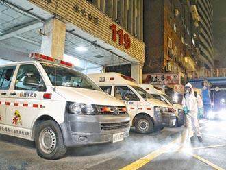 高雄警中鏢 北市2消防員打疫苗後確診