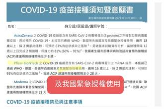 秀出衛福部文件 游淑慧爆料:BNT疫苗早通過台灣緊急授權使用