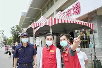 強化傳統市場防疫 新竹市攤販集中區每天消毒