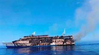 印尼渡輪海上起火 274人跳船獲救1人失蹤