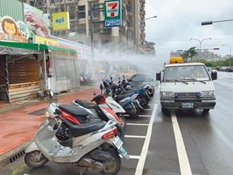 防堵病毒 竹市56熱區消毒