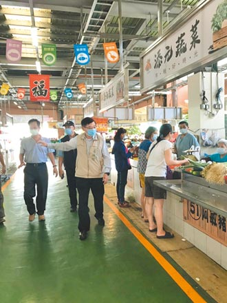 台南菜市場實聯制 外圍攤商難掌控