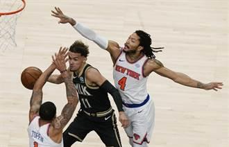 NBA》崔楊不再孤軍奮戰 老鷹啄退尼克宣告聽牌