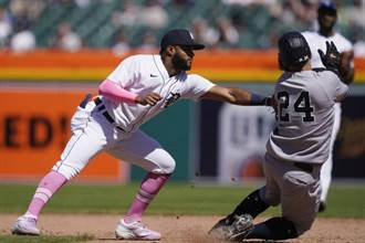MLB》相隔21年 洋基客場意外遭老虎橫掃