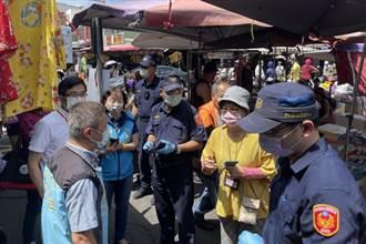 竹縣傳統市場採單雙號分流 快買快走一次買足