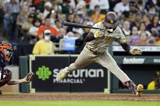 MLB》不自然人體動作!小塔提斯劈腿躲過觸身球