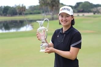 台灣大體育家族高爾夫球女將李旻奪生涯第3座冠軍 台灣大發出激勵獎金