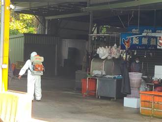南投竹山鎮菜市場攤商 6月租金減半