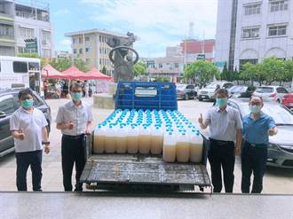 台塑企業力挺防疫 捐高雄市16噸漂白水