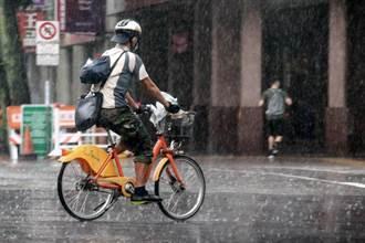 明3地嚴防劇烈雨勢 端午節起雷雨區擴大 對流更旺盛