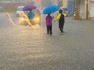 雨彈狂炸彰化 解除停水無望