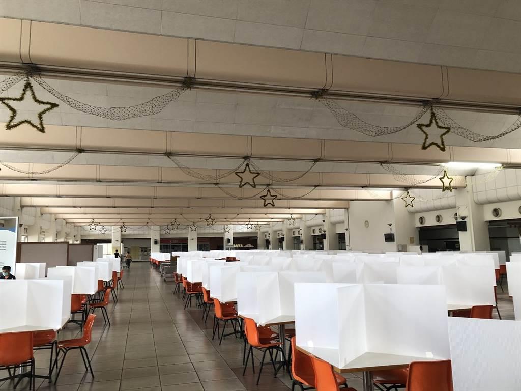 中華汽車提供安心便當送餐服務,降低員工餐廳共餐機會。