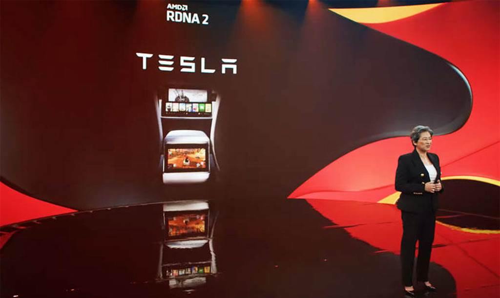 Model S/X 強悍車載效能解密:AMD RDNA 2 GPU