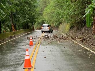 雨中巡路遭石擊 谷關工務段3人幸無大礙