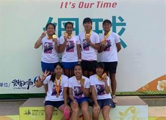 中華開發培育網球小將 全中運摘雙金