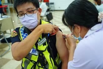 新北8000警今日全面開打疫苗 全部打好打滿