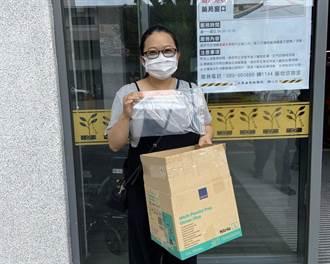 台東暖心孕婦自製兒童防護面罩贈東基