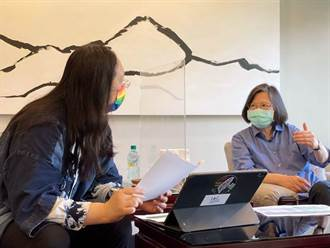 疫苗施打預約系統 唐鳳今跟蔡英文報告進度