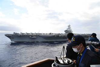 美日雙航母聯合軍演 陸不甘示弱派3艦穿越大隅海峽