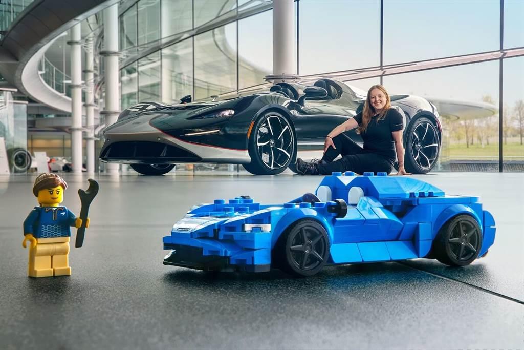 LEGO推出Speed Champions McLaren Elva新車款 現已開始販售