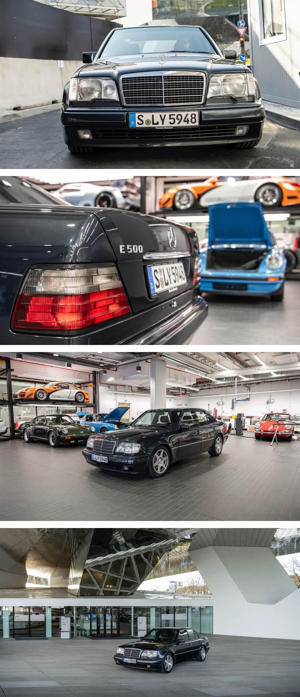 Mercedes-Benz與Porsche合作開發W124 500 E的故事