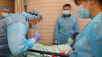 確診男砍傷雙和醫院護理師 3名壓制勇警採檢結果出爐