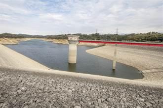 雨下哪去?寶山寶二水庫蓄水量未達2成  待周末鋒面解渴