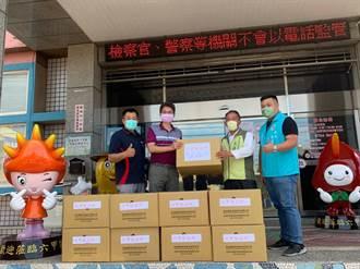 台南在地企業助弱勢族群抗疫 贈10.2萬片口罩