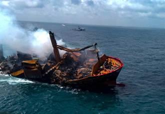 貨櫃輪失火沉沒  斯里蘭卡海洋生態遭遇嚴重災難