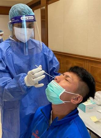 3天戳一次鼻子 中華男足還要對抗科威特高溫