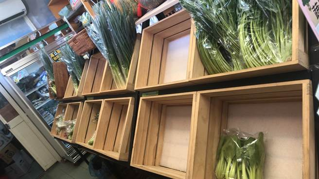 新竹市農會在地小農蔬菜一上架就被掃空,農會找上其他地區農會合作,將推出有機蔬菜箱,供民眾上網訂購。(新竹市農會提供/邱立雅竹市傳真)
