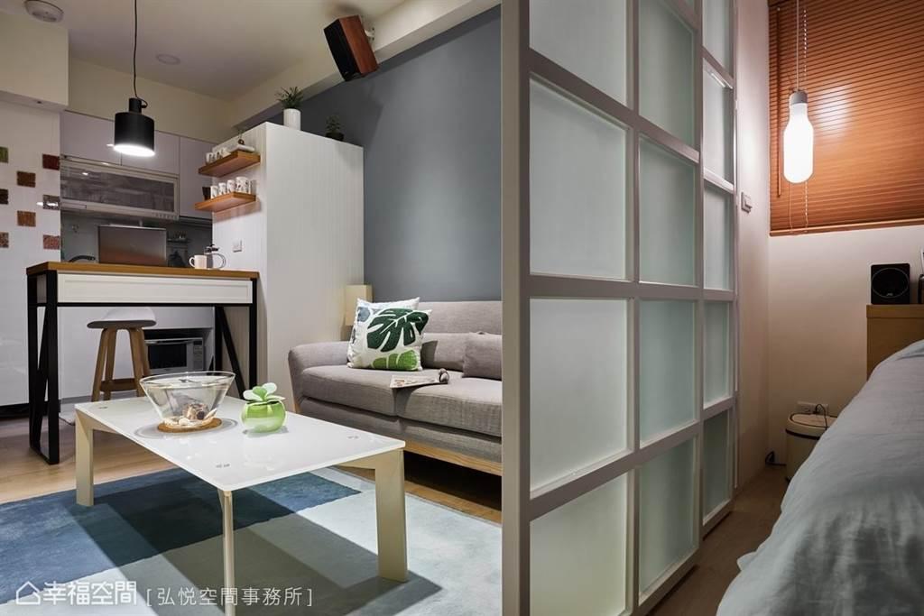 8坪小坪數套房設計 也能恣意享受一個人的精彩