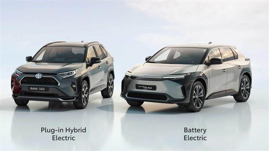 Toyota 全新電動車 bZ4X 量產版將於下半年發表,同步預告皮卡車邁向電動化