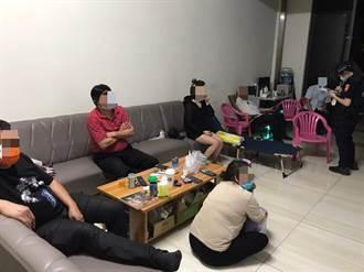 計程車司機休息處6男女群聚 竹北警查獲越籍女逾期居留